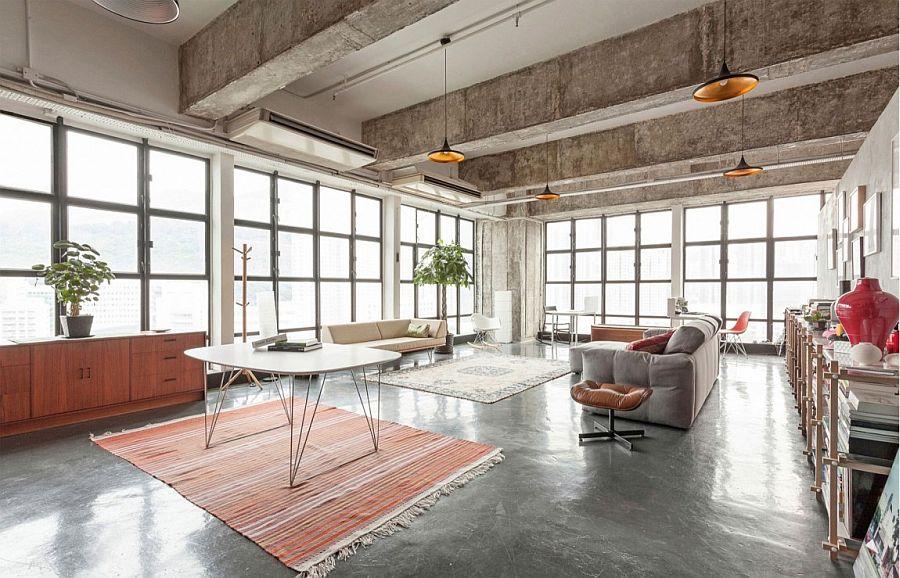 Pragmatic Design And Hidden Spaces Industrial Loft In