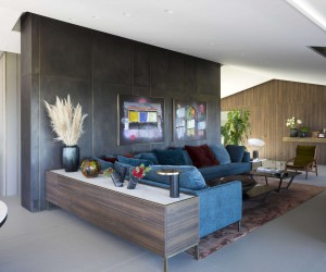Preso handle by Manital chosen by Mario Mazzer Architects for Villa Emma