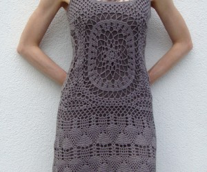 Pretty Crocheted Dresses and Skirts for Summer