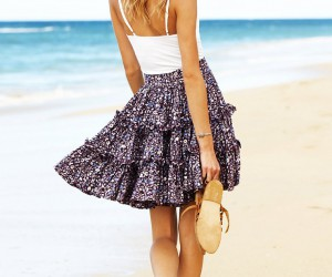 Pretty DIY Skirts for Summer