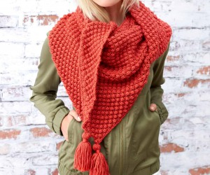 Pretty Shawl Knitting Patterns for Fall