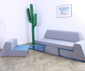 Prime sofa by Desnahemisfera