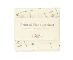 Printed Japanese Handkerchief