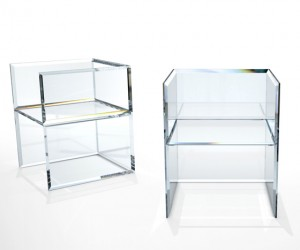 PRISM Glass Chair by Tokujin Yoshioka for Glas Italia