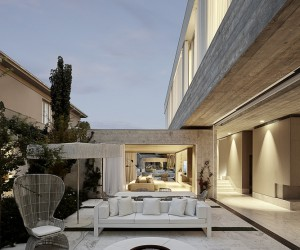 Private Home with a Largely Minimalist Interior