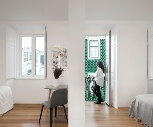 Prncipe Real Apartment by Fala Atelier, Lisbon