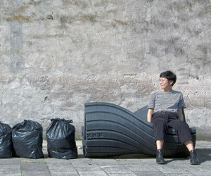 Project Turns Waste Into Benches