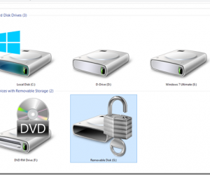 Protect Data on the Portable Drive Using BitLocker