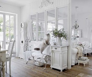 Pure white and shabby chic in Bavaria
