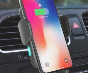 Qi Certified Wireless Car Charger for Phone