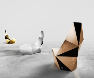 QTZ Seating Collection by Alexander Lotersztain