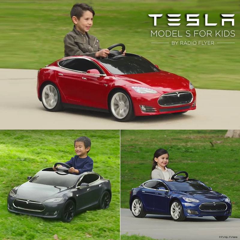 Radio Flyer Launches The Tesla S Model For Kids