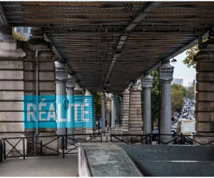 Realite installation in Paris by Boa Mistura