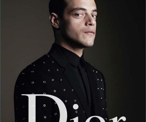 Rami Malek for Dior Hommes spring 2017 campaign