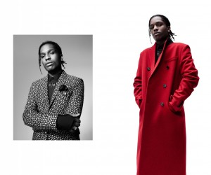 Rapper AAP Rocky fronts Dior Hommes fall-winter 2016 campaign