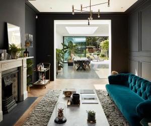 Ravishing Refurbishment Dramatically Alters Double Fronted London Home