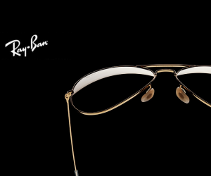 Ray-Ban Aviator Solid Gold