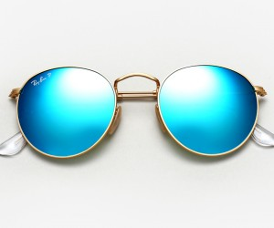 Ray Ban Round Metal Sunglasses 2015