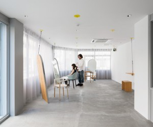Re-Edit hair Salon in Osaka, Japan by Sides Core