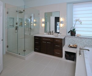 Re-interpreting and re-inventing space: bathroom remodeling