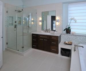Re-interpreting and re-inventing space: bathroom remodeling