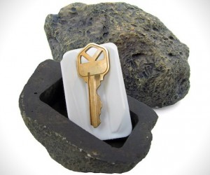 Real Life Rock Key Holder Design