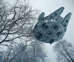 Realistic Star Wars Toy Spaceship Photography