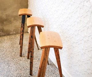 Reclaimed furniture designs by Aussie craftsman
