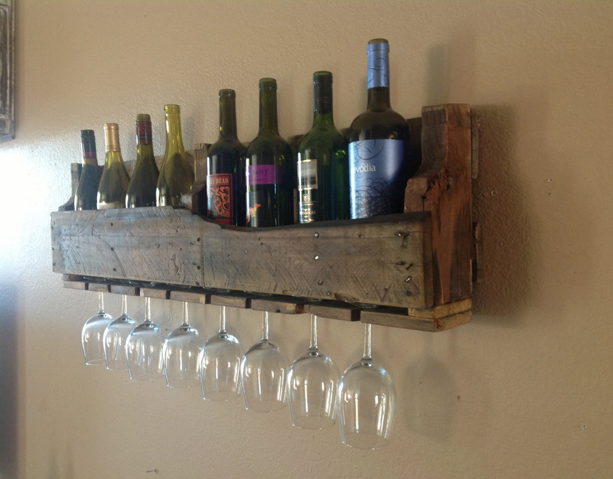 Reclaimed Wood Wine Racks