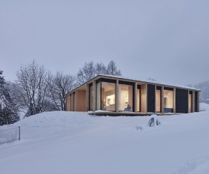 Reconstructed Linz Home Doubles its Square Footage with a Space-Savvy Modern Makeover