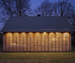 Recreation House Outside Utrecht by Zecc Architects