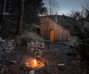 Recreation place in the woods: Toms Hut