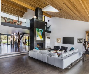 Redmond Ranch Gets Three Modern Additions and Stylish Interiors