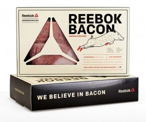 Reebok Bacon and The Bacon Box Food Truck