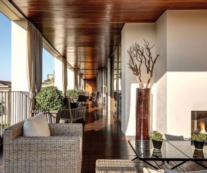 Refined and Elegant Bulgari Hotel in the City of Milan, Italy