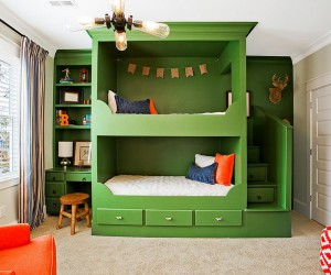 Refreshingly Trendy: How to Add Green to the Kids Bedroom