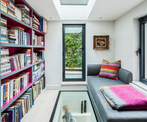 Relaxing and Private: Glazed Rear Extension Breathes Life into this British Home
