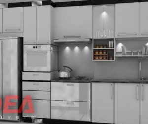 Renaissance Tower Condo - Modular Kitchen
