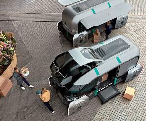 Renault EZ-PRO Autonomous Vehicle
