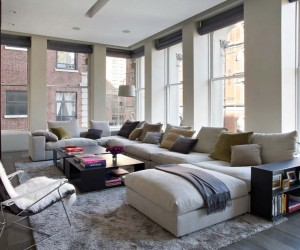 Renovated New York Loft is a Showcase to Exquisite Artwork