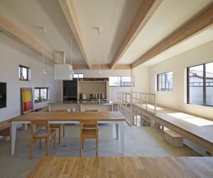 Renovation House L by Hiroyuki Shinozaki Architects