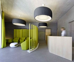 Residential and Dental Practice by Architekten Rf Stasi Partner