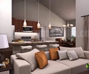 Residential Interior Walkthrough - Condominium 3D Virtual Tour