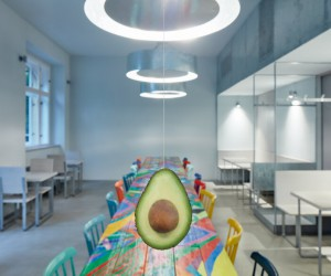 Restaurant Avocado Gang in Prague by Mimosa Architekti