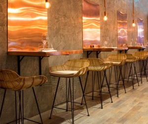 Restaurant Decor by Kinnersley Kent Design