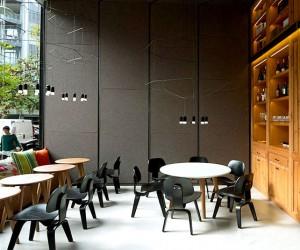 Restaurant Interior in Barcelona