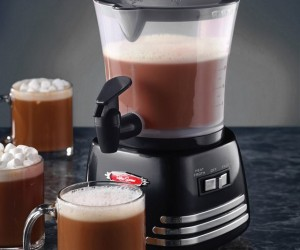 Retro Hot Chocolate Maker From Nostalgia Electrics