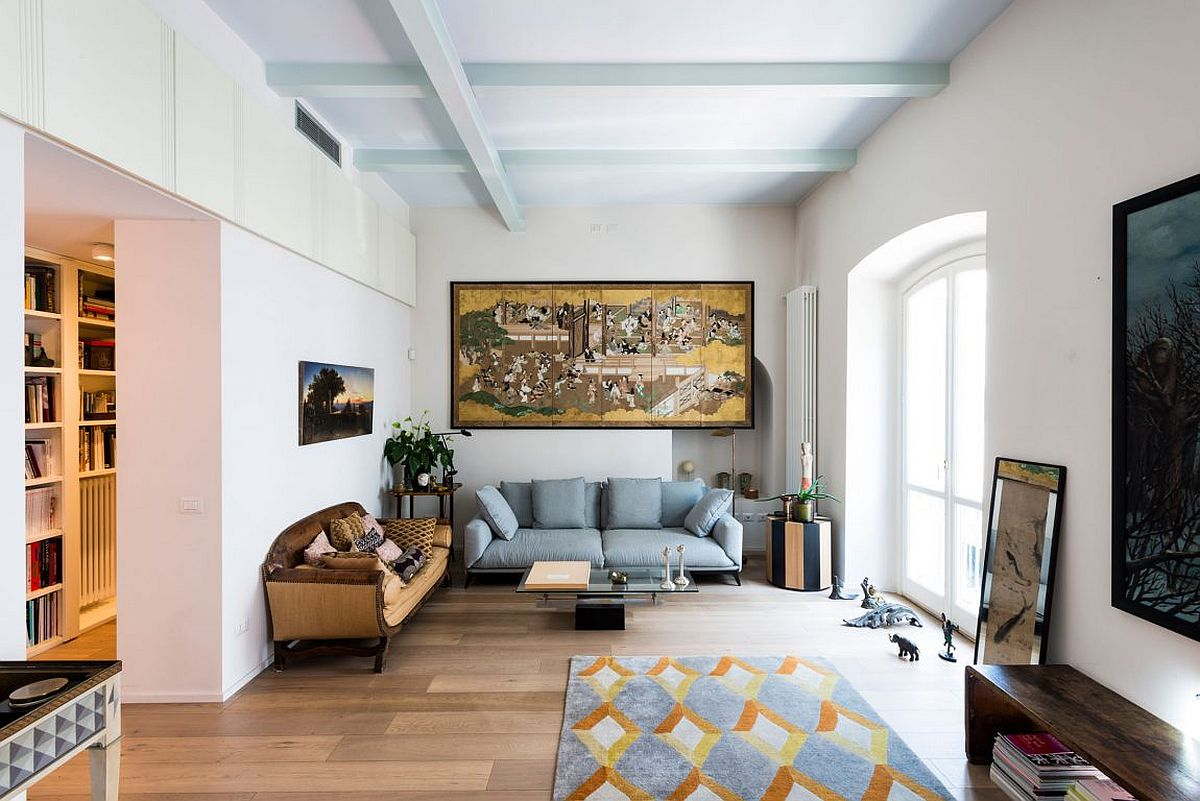 apartment inside.  Retro Meets Modern Inside Renovated Apartment That Dates Back to 1892