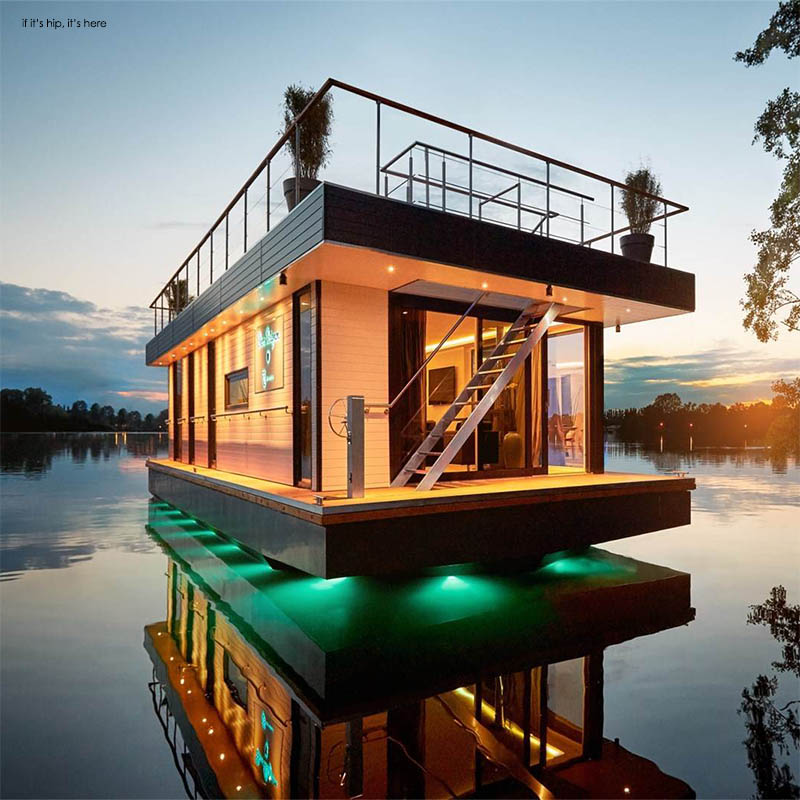 Rev House Custom Eco-Friendly Floating Paradises