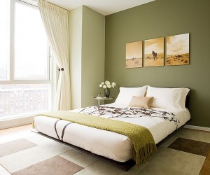 Revitalizing Style: 25 Chic and Serene Bedrooms with Green Glint